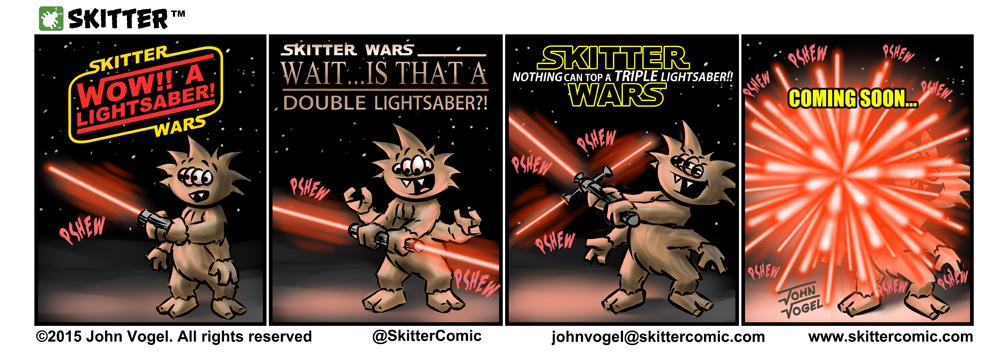 SKITTER - Lightsabers