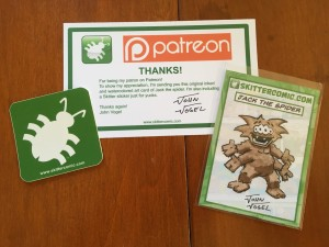 Patreon thank you