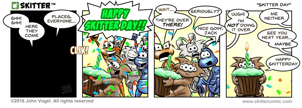 Skitter Day!