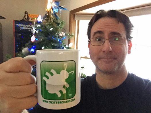 skitter mug and me