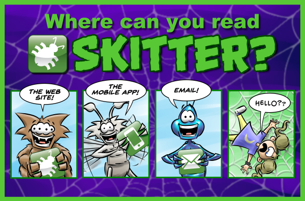 Where can you read Skitter