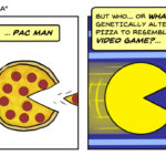 Pac Man Pizza