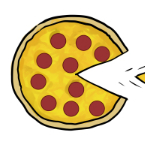 Pac Man Pizza Thumbnail