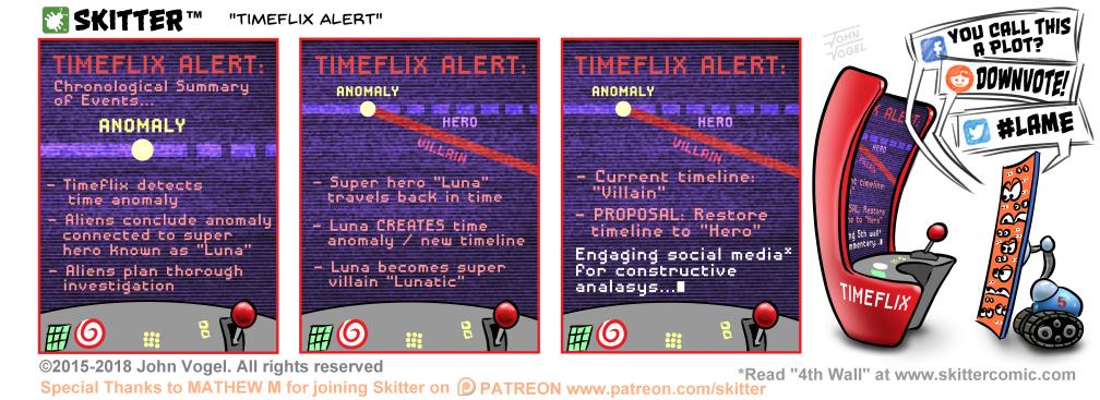 Timeflix Alert