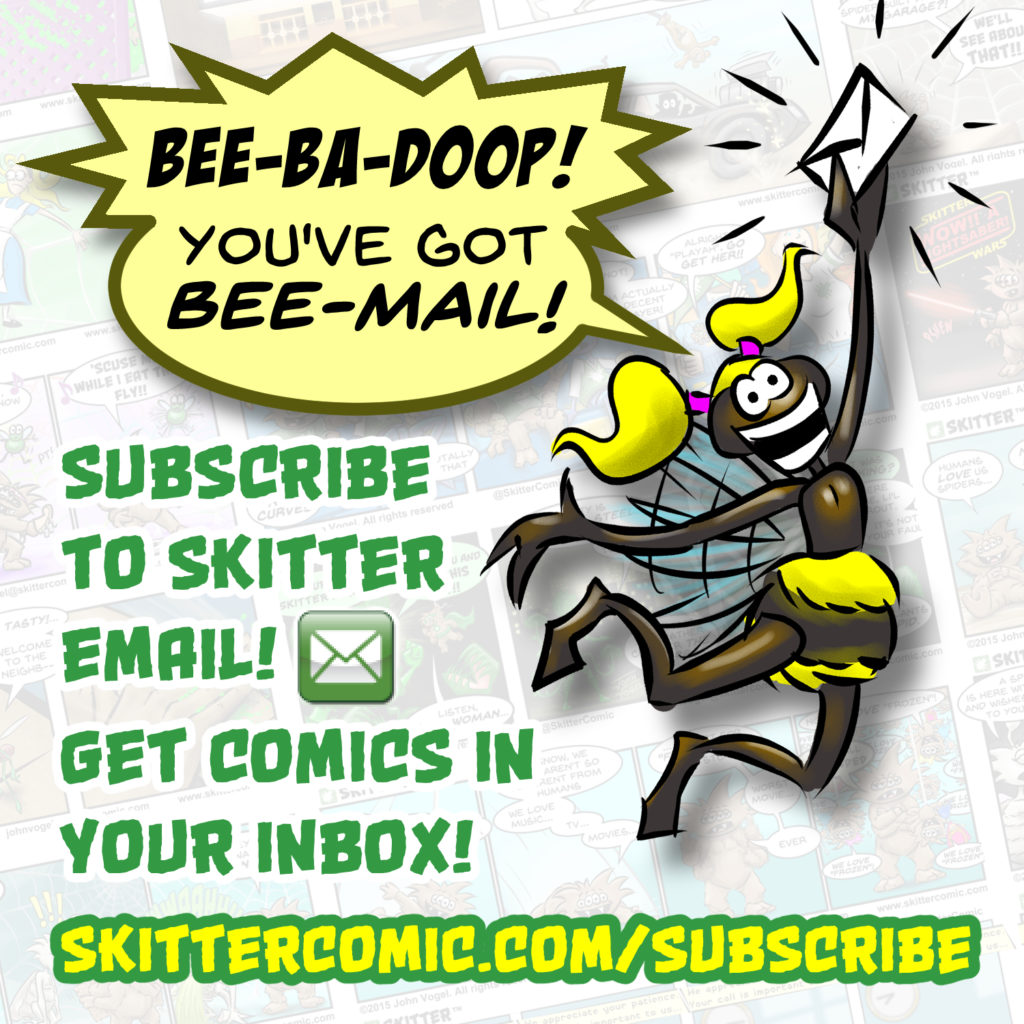 Skitter email