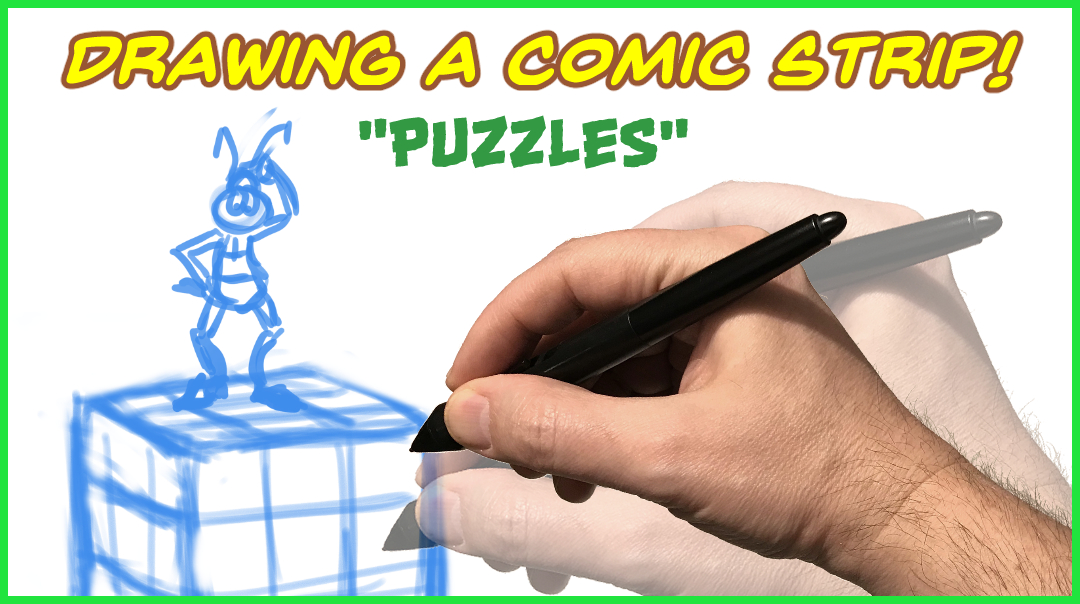 Drawing A Comic Strip - Puzzles