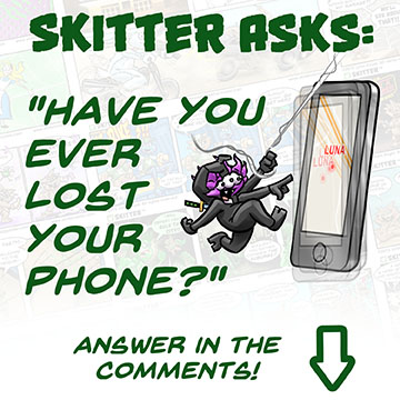 Skitter Asks Lost Phone