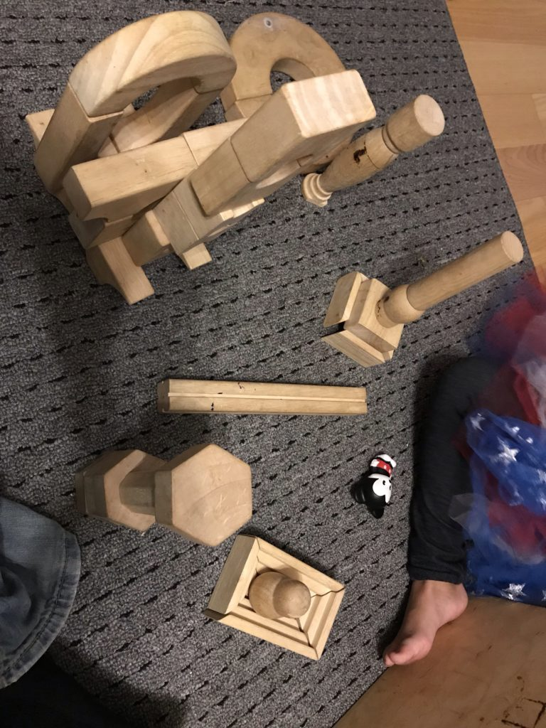 Blocks with luna