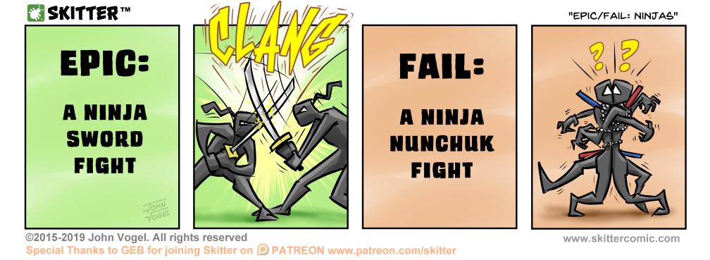 Epic/Fail: Ninjas