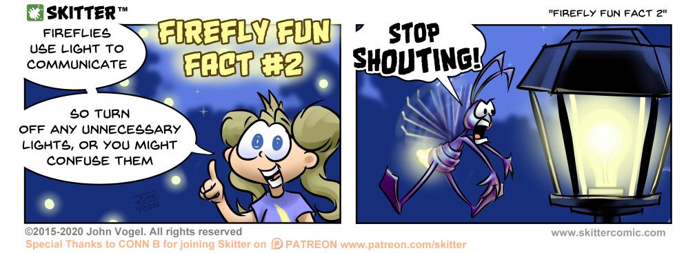 Firefly Fun Fact #2