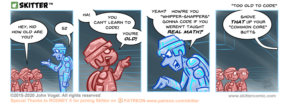 Too Old To Code